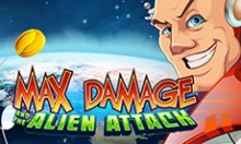 Игровой автомат Max Damage and The Alien Attack